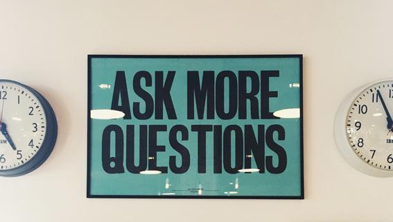 L'arte di imparare a chiedere