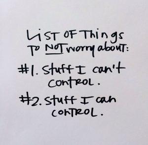 Cose di cui non preoccuparsi
