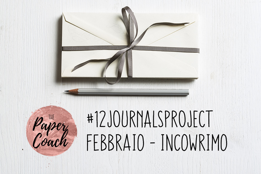 12 Journals Project: Incowrimo