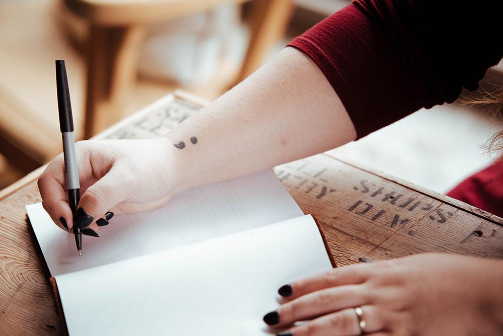 Scrivere per combattere lo stress